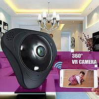 3D панорамная IP камера CAD 3630 видеонаблюдения 360 градусов WI-FI Full HD Камера видеонаблюдения, фото 1