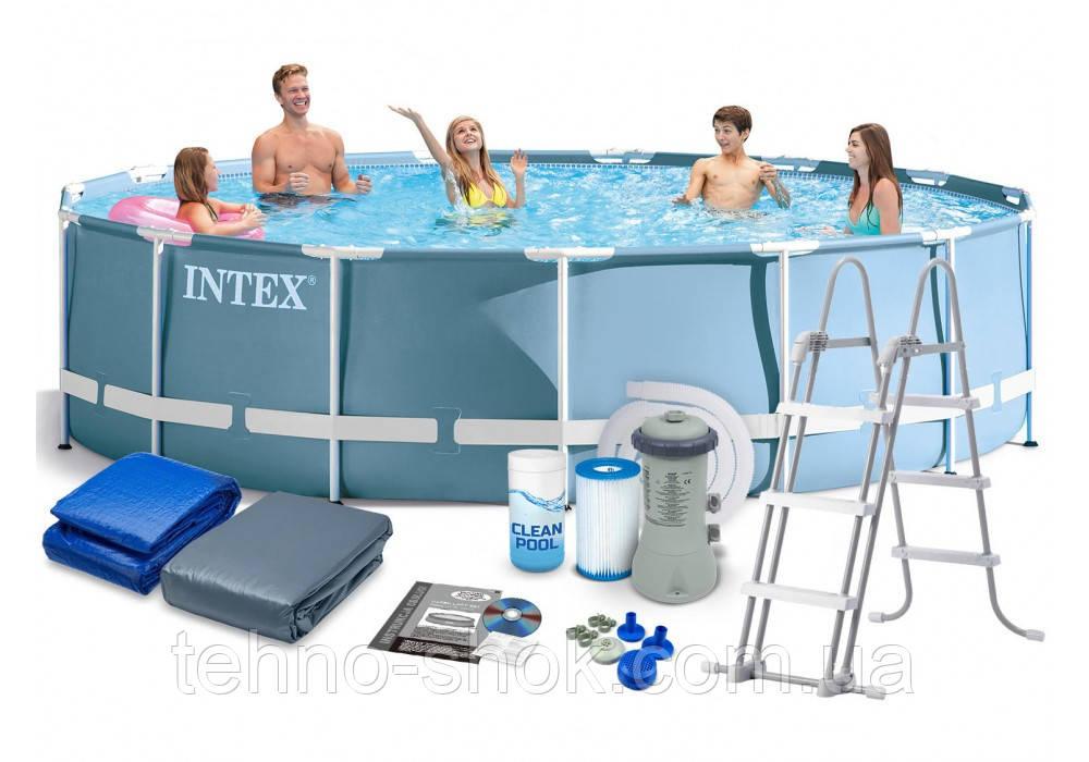 Каркасный бассейн Intex 26734 (457х107см)