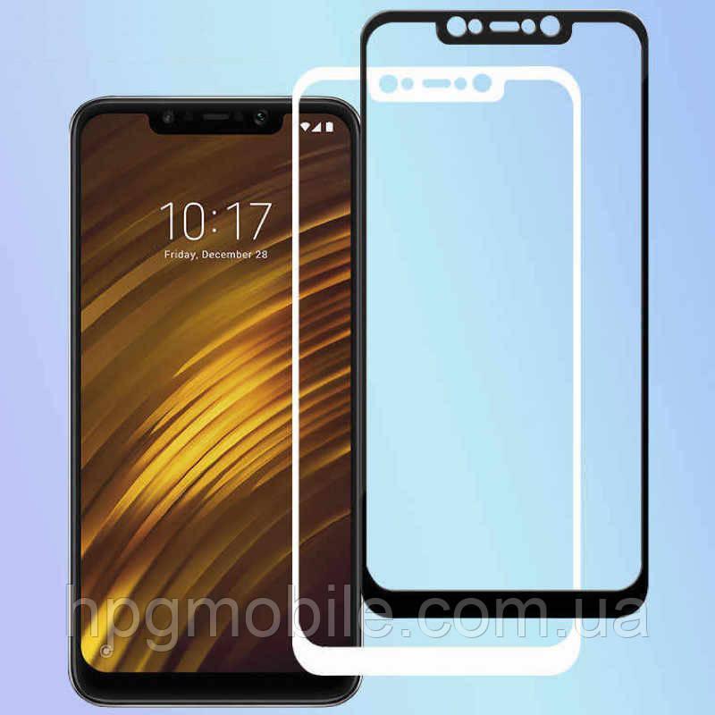 Защитное стекло 5D Full Glue на весь экран для Xiaomi Pocophone F1