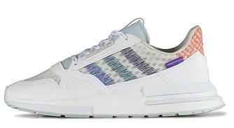 Мужскиекроссовки Adidas Commonwealth 'White/Blue' (Premium-class) белые