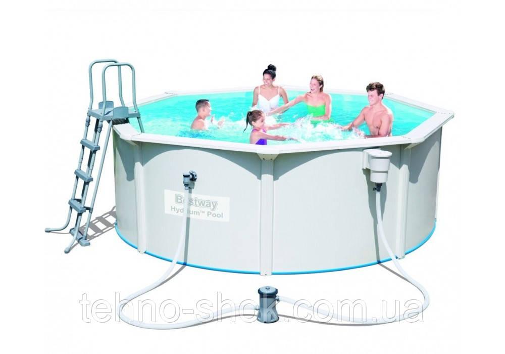 Сборный бассейн Bestway 56571 STEEL WALL Hydrium 360 х 120 см