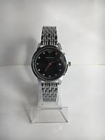 Женские наручные часы Emporio Armani (Эмпорио Армани), серебристо-черный цвет ( код: IBW204SB )
