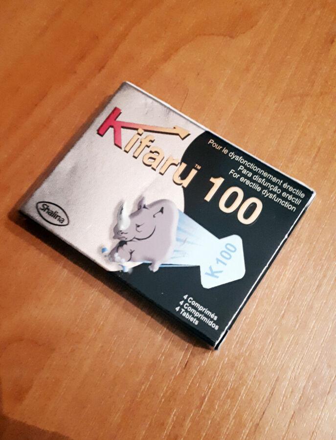 Таблетки Kifaru 100 (4 шт.)