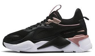 Женские кроссовки Puma RS-X 'Black/White/Pink' (Premium-class) черные