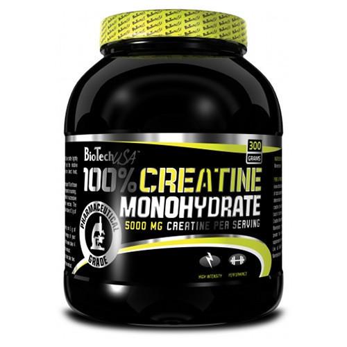 Креатин моногидрат BioTech 100% Creatine 300 g