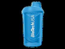 Шейкер BioTech Shaker Wave Schocking Blue (600 ml)
