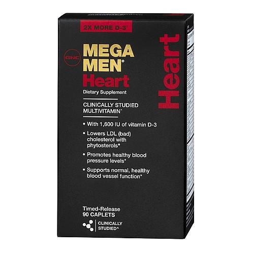 Вітаміни для чоловіків GNC MEGA MEN HEART (90 caps)