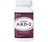Витамины A и D GNC Vitamin A & D (100 caps)