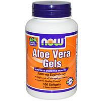 Алое NOW Aloe Vera Gels 5000 mg (100 softgels)