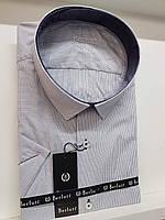 Рубашка с коротким рукавом Berluti в клетку