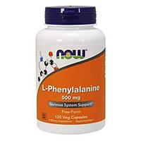 Фенилаланин NOW L-Phenylalanine 500 mg (120 caps)