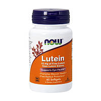 Лютеин NOW Lutein 10 mg (60 softgels)