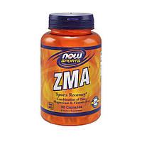 ZMA Цинк Магний Аспартат NOW ZMA 800 g (90 caps) повышение тестостерона