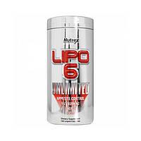 Жиросжигатель Nutrex Lipo 6 Unlimited (120 liquid caps)