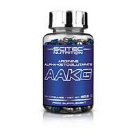Предтренировочный комплекс Scitec Nutrition AAKG (100 caps)