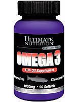 Рыбий жир Ultimate Nutrition Omega 3 (90 softgels)