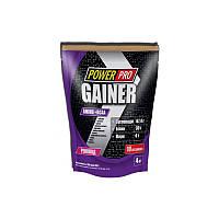 Гейнер высокобелковый Power Pro Gainer 4 kg