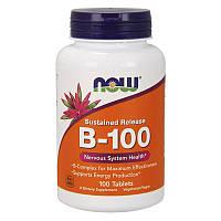 Витамины группы B NOW B-100 tabs