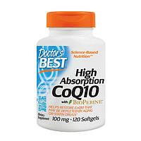 Коензим Q10 Doctor's s BEST High Absorption CoQ10 100 mg (120 softgels)