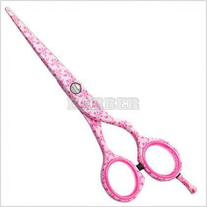 """Ножницы для стрижки прямые Jaguar White Line Jaguart Pretty Pink. Длина 5,00"""""""