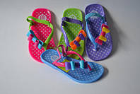 Детские силиконовые босоножки оптом, 24-29 размер. Детская пляжная обувь оптом