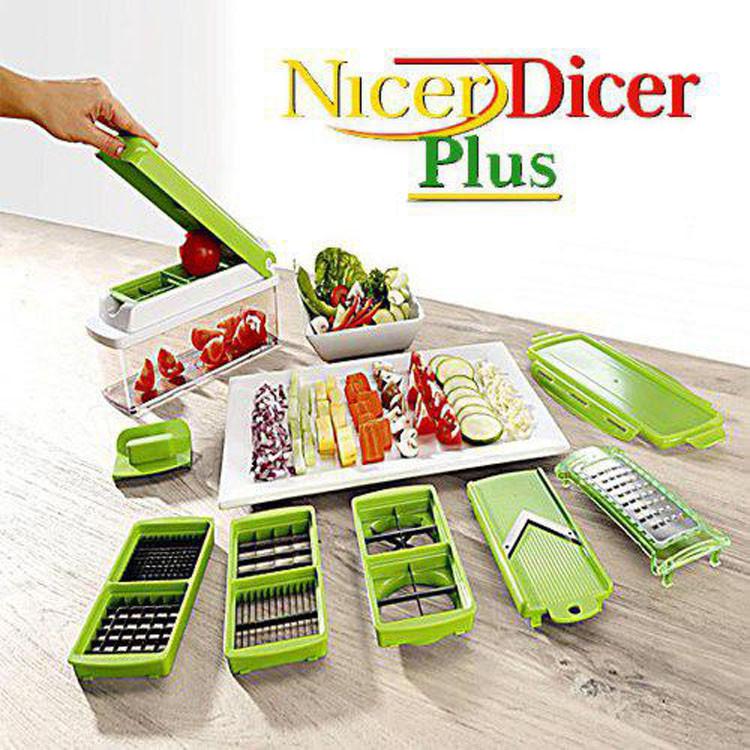 Овочерізка Nicer Dicer Plus Найсер Дайсер шинкування терка подрібнювач Найсер Дайсер Плюс