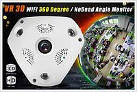 3D панорамная IP камера видеонаблюдения XPX 360 градусов WI-FI Full HD IP-камера с круговой съёмкой, фото 1