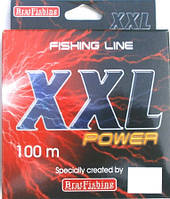 Леска BratFishing XXL Power, 0,44 мм, 100 м.