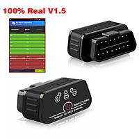 Автосканер Konnwei KW903 ELM327 ODB2 Bluetooth 3.0  V 1.5 Pic18f25k80 Chip 4mhz, фото 1