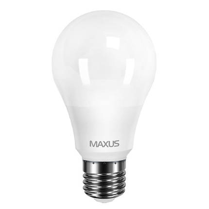 Лампа MAXUS A60 10W 4100K 220V E27 AP (2 шт.), фото 2