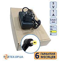 Блок питания 2,5-0,7 mm 5V 2A DC(постоянный ток) класс A новый