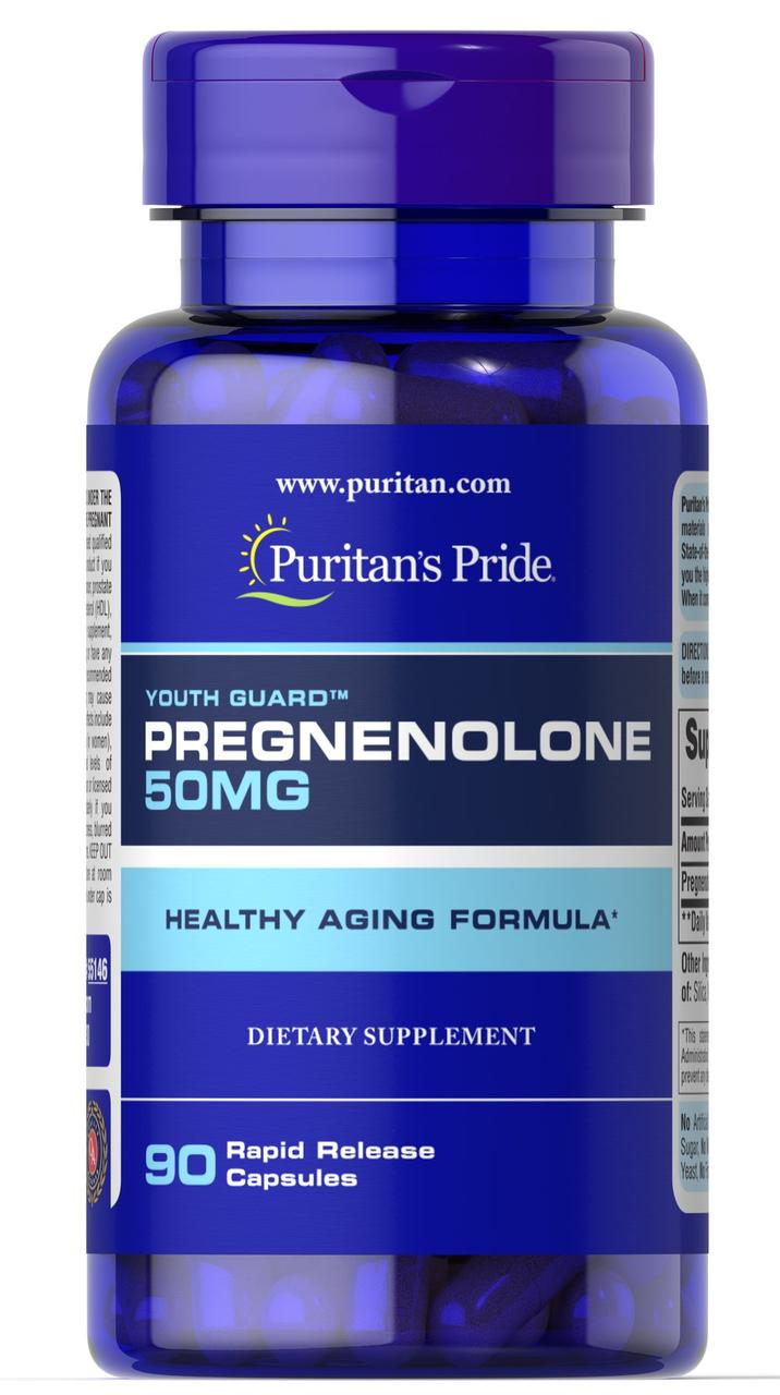 Puritan's Pride	Pregnenolone 50 mg 90 капсул  до 03/20года