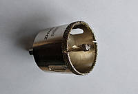 Алмазна коронка 75 мм по плитці з напрямних свердлом, фото 1