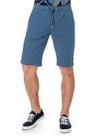 Шорты мужские в синем цвете на шнуровке. Оригинальные Pierre Cardin