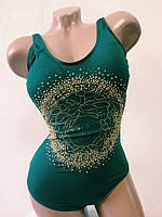 Купальник женский совместный.. Rivage Line. 19505 зеленый