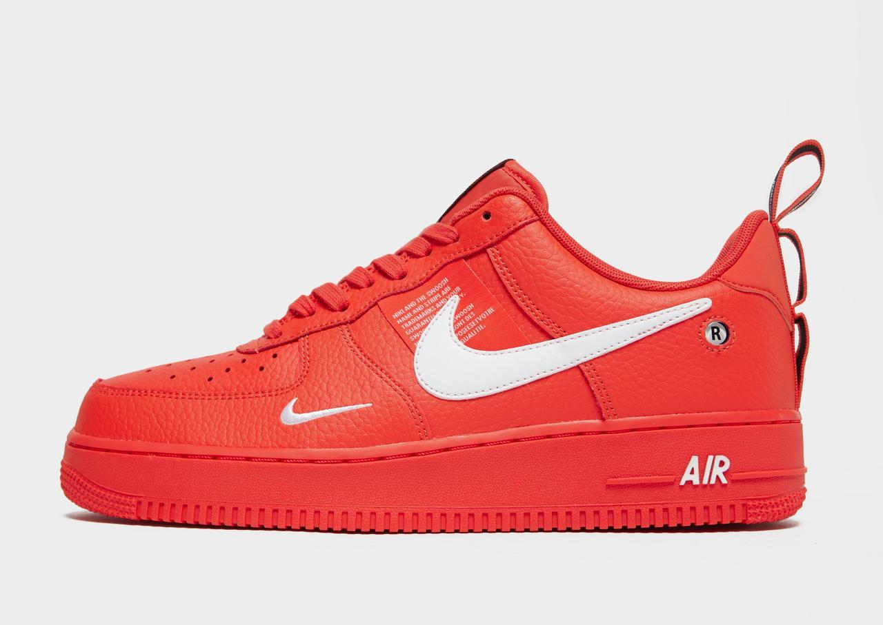 c06b2d3c Женские кроссовки Nike Air Force 1 '07 LV8 Utility Low All Red ...