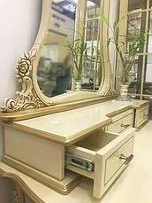 Туалетный стол с зеркалом в стиле барокко №10 (В НАЛИЧИИ), фото 2