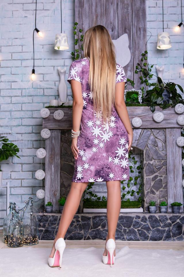 Фото-1 Летних платьев больших размеров Лейла-5