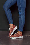 Открытые летние замшевые  кроссовки с перфорацией Ted Dream (кения), фото 6