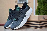 Мужские кроссовки Adidas Prophere текстильные стильные молодежные однотонные адидасы серые, ТОП-реплика