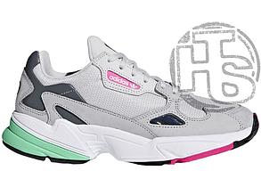 Женские кроссовки Adidas Falcon Grey Mint Pink F35269