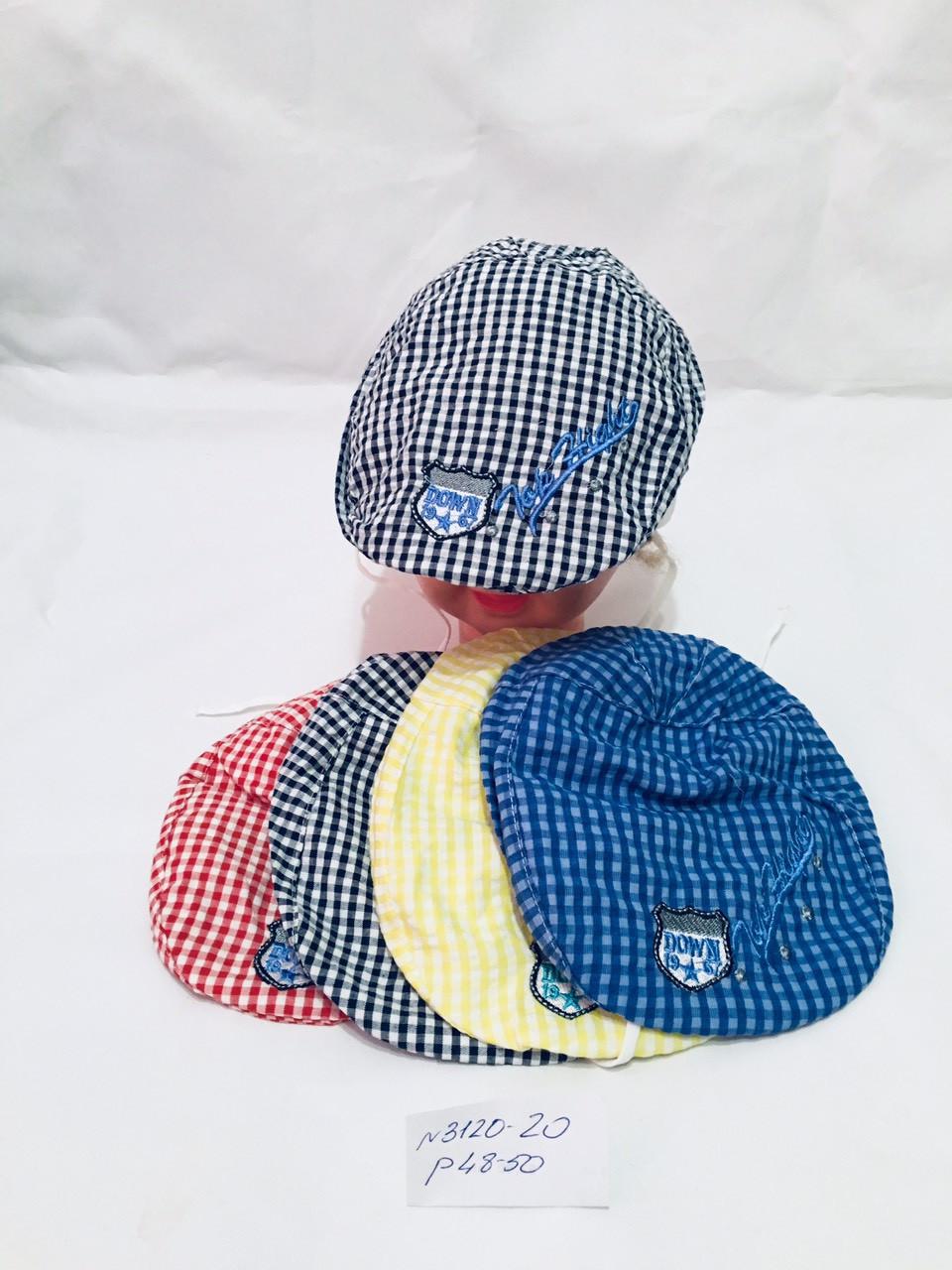 Детская  кепка   на лето для мальчика  р.48-50