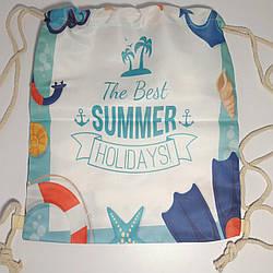 Пляжная сумка летний рюкзак