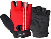 Велоперчатки PowerPlay 5031B Red L