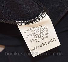 Бриджи женские в летних тонах и больших размерах 2XL - 6XL ( Польша ) Капри женские - дайвинг, фото 2