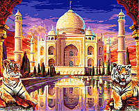 Картина розмальовка за номерами Тадж Махал (VP425) 40 х 50 см