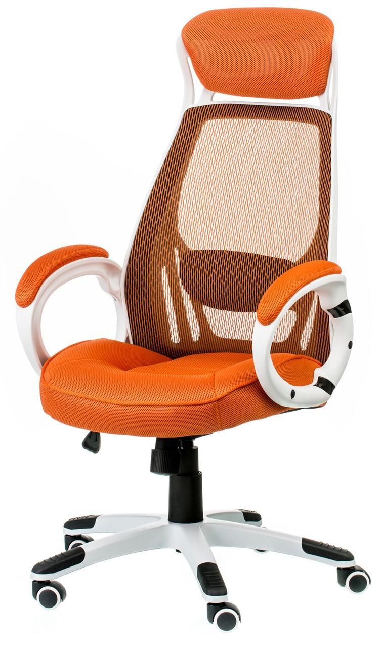 Крісло офісне Briz огапде/whitе