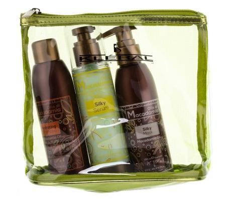 Набор для волос Kleral System Macadamia Kit в косметичке