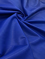 ЭКО кожа 2х сторонняя (ш. 150 см.) цвет электрик для пошива чехлов в авто, ремонта мебели, пошива одежды.