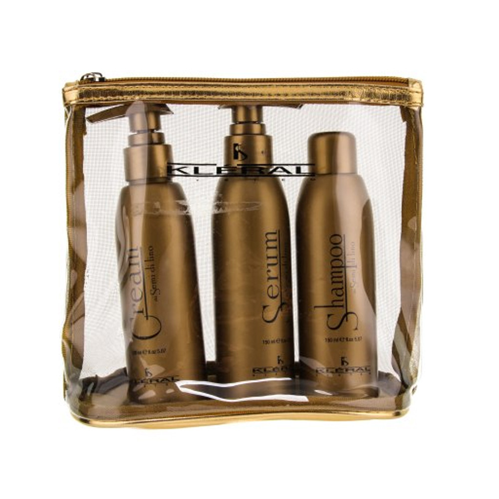 Набор для волос Kleral System Semi Di Lino в косметичке